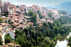 Veliko Tarnovo,one of the most beautiful cities in Bulgaria.