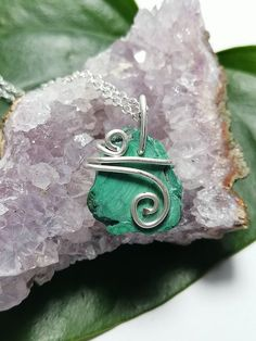 Blue Opal silver 999 wirewrap protection amulet.Shamanic wiccan necklace.Witchy jewelry