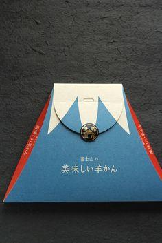 富士山の形をした、ようかん |ジャンクエレガンス アンダーワールド♪