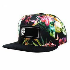 a75d1f1bd5431 BONÉ ABA RETA SNAPBACK HOSHWEAR FLORAL CAVEIRAS Dope Hats, Snapback Cap,  Amanda, Baseball