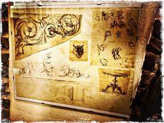 """C/O @biennaledisegnoRN #mybiennaleRN """"Due passi nell'antico disegni dal 500 all'800"""" Antichitâ Isotta #rimini #myrimini #volgorimini #vivorimini #ig_rimini #igersrimini #igers @comunerimini #arte #disegno by mrzpan"""
