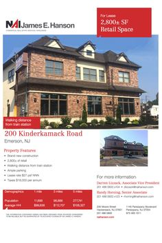 Brand new construction! // Listing in Emerson, NJ - Real Estate Agent, Investor, Business Owner