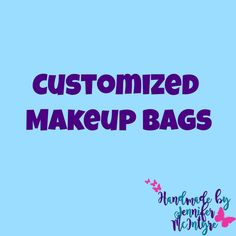 Create Your Own Stunning Website for Free with Wix Custom Makeup Bags, Customized Gifts, Create Your Own, Special Occasion, Free, Personalized Gifts