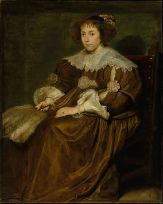 Portrait of a young woman, Cornelis de Vos, no date given (possibly later 1630s). Metropolitan Museum of Art accession no. 71.46