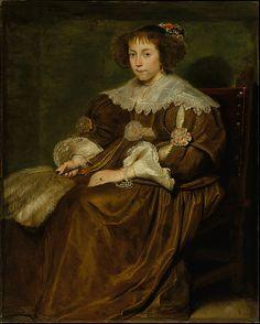 Portrait of a young woman, Cornelis de Vos, no date given (possibly later 1630s). Metropolitan Museum of Art accession no. 71.46
