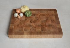 End grain Cutting Board  Handmade chopping board  by KubuHandmade