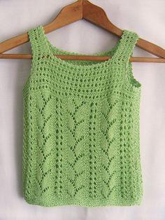 Items similar to Malachite Genuine -summer hand knitting shirt for girls on Etsy Vest Pattern, Top Pattern, Crochet Cover Up, Knit Crochet, Sweater Knitting Patterns, Hand Knitting, Crochet Tank Tops, Knit Shrug, Look Boho