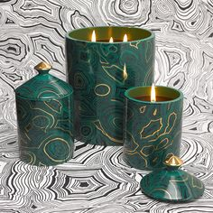 Fornasetti - Scented Candle - Malachite
