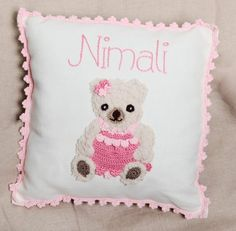 Hey, I found this really awesome Etsy listing at https://www.etsy.com/uk/listing/495357806/personalised-cushion-teddy-bear-baby