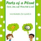 These worksheets on 'Parts of a Plant' are tailored for Grade 3 kids.  The topics covered are roots, stem, leaf, flower, fruit and seed.  The way I...