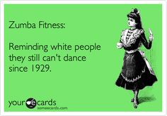Funny Fitness Cards - Zumba