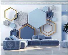Wall Painting Living Room, Living Room Bedroom, Living Room Decor, 3d Wall Painting, Wallpaper For Living Room, Wall Wallpaper, Modern Wallpaper, Photo Wallpaper, Wall Art For Bedroom