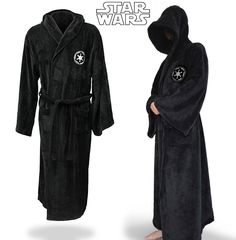 Free Shipping Star Wars Jedi Knight Robe Deluxe Bath Robe Carnival Cosplay…