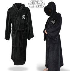 Free Shipping Star Wars Jedi Knight Robe Deluxe Bath Robe Carnival Cosplay…