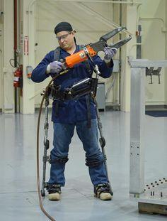 Fortis Exoskeleton by Lockheed Martin