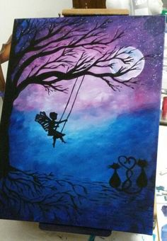 Swinging fairy inspired by YouTube Cinnamon Cooney