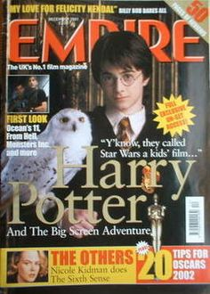 Harry Potter and the Big Screen Adventure [Empire magazine - December 2001]