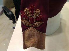 Wedding Saree Blouse Designs, Pattu Saree Blouse Designs, Blouse Designs Silk, Designer Blouse Patterns, Sari Blouse, Hand Work Blouse Design, Simple Blouse Designs, Stylish Blouse Design, Embroidery Neck Designs
