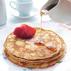 Cream Cheese Pancakes - I Breathe... Im Hungry...