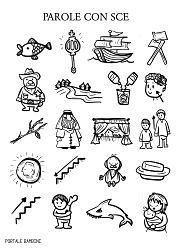 Schede didattiche sui suoni difficili alfabeto for Suoni difficili schede didattiche