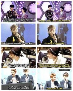 Forever alone Tao.  That's okay Tao.  I would choose to be alone too.  I always do.