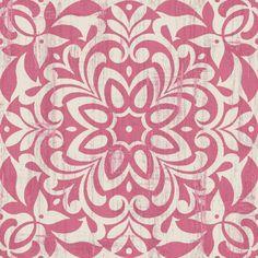 Cute pink pattern.