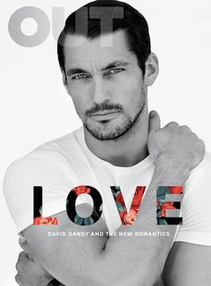 """David Gandy -  Styling by Grant Woolhead 
