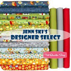 Jenn Ski's Designer Select Fat Quarter Bundle Ten Little Things Collection - Fat Quarter Shop