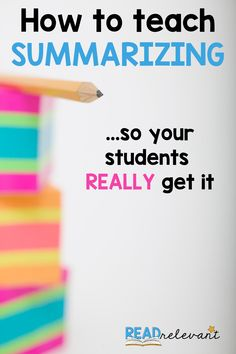 Are you struggling to get your students to master the summary? Read this blog post with FREE resources and ideas for helping them summarize once and for all! Digital and paper versions are included.   #writingLessons #Summarizing #SummarizingLessons #ELALessons #ELATeachers #ELAactivities #BackToSchoolELA #WritingStrategies #ELABlogs #GoogleClassroom #DistanceLearning #DigitalHybrid #HybridLearning #DistanceLearningELA #DigitalLessonPlans #MiddleSchoolELA Reading Comprehension Skills, Writing Strategies, Writing Lessons, Writing Resources, Reading Skills, Writing Skills, Learning Resources, Math Lessons, Reading Activities