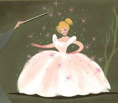 mary blair concept art for cinderella