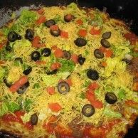 zucchini crust pizza with good reviews