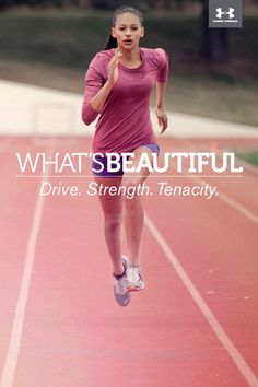What's Beautiful. Drive. Strength. Tenacity.  #whatsbeautiful @UAWomen
