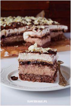 Ciasto Kubanka - I Love Bake Nutella, Tiramisu, Good Food, Food And Drink, Cooking Recipes, Tasty, Meals, Cakes, Baking