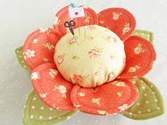 Pin CushionButtercups ~ by 'Pretty by Hand'