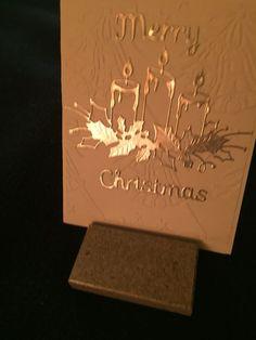Tarjetas De Vela, Las Ideas, Caja De Recuerdos, Box Glowing, Glowing Candles, Candles Memory, Candles Die, Box 2, Box Christmas