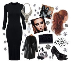 """""""Little Black Dress 8"""" by katerynak on Polyvore featuring WithChic, Forever 21, Casadei, Victoria's Secret, Kate Spade and East of India  #partystyle #partydress #party #NewYearsEve #newyear #LittleBlackDress #2015 #2016trends #2015wishlist"""