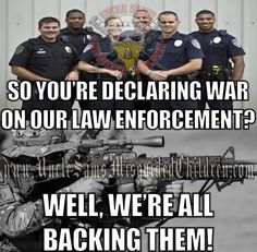 Well, you can always hate law enforcement and perhaps they will stop coming to your neighborhood.and you can see how things go from there and cope and maintain safety and some order on your capable own. Truth Hurts, It Hurts, Police Life, Police Cars, Thin Blue Lines, God Bless America, American Pride, Way Of Life, Marine Corps