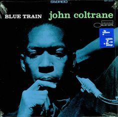 John Coltrane was an American jazz saxophonist and composer. Blue Train is a hard bop jazz album released for Blue Note Records. Lps, Lp Cover, Vinyl Cover, Cover Art, Vinyl Lp, Vinyl Records, Blue Note Jazz, Famous Album Covers, Jazz Club