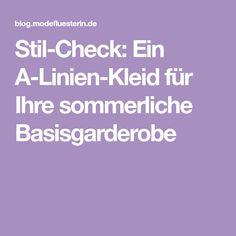 Stil-Check: Ein A-Linien-Kleid für Ihre sommerliche Basisgarderobe