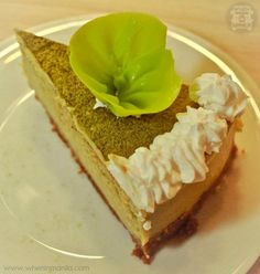Craving for Green Tea Cheesecake (Akiba Cafe)