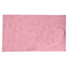 East Urban Home Festive Hol Tablecloth Size: L x W, Colour: Pink/Red Red And Pink, Pink White, Blank Business Cards, Tablecloth Sizes, Cotton Twill Fabric, Timeless Design, Compliments, Bleach