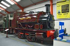 """Hudswell Clarke No 1309 """"Henry de Lacy II"""" - Henry de Lacy II worked in Kirkstall Forge from delivery in 1917 until closure of the works' railway system in 1968. Hudswell Clarke were still building steam locos until 1961. MLR"""