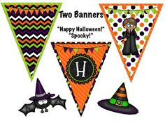 FLASH FREEBIE! Free Oct. 7-14th! Follow me and download your FREE Halloween pennant banner now!