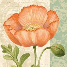❤ =^..^= ❤     Pastel Poppies II | Pamela Gladding