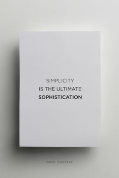 mnmlposters.com/ Simplicity #typography #poster #minimal