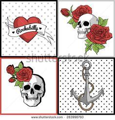 Resultado de imagem para heart pin up tattoo