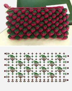 Amazing crochet pattern    Схема для вязания крючком