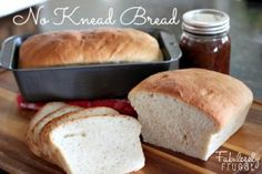 5 Loaves Of Bread In 2 Hours No Knead Recipe