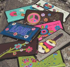 Hippie Hinged Wallet