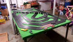 4 car track